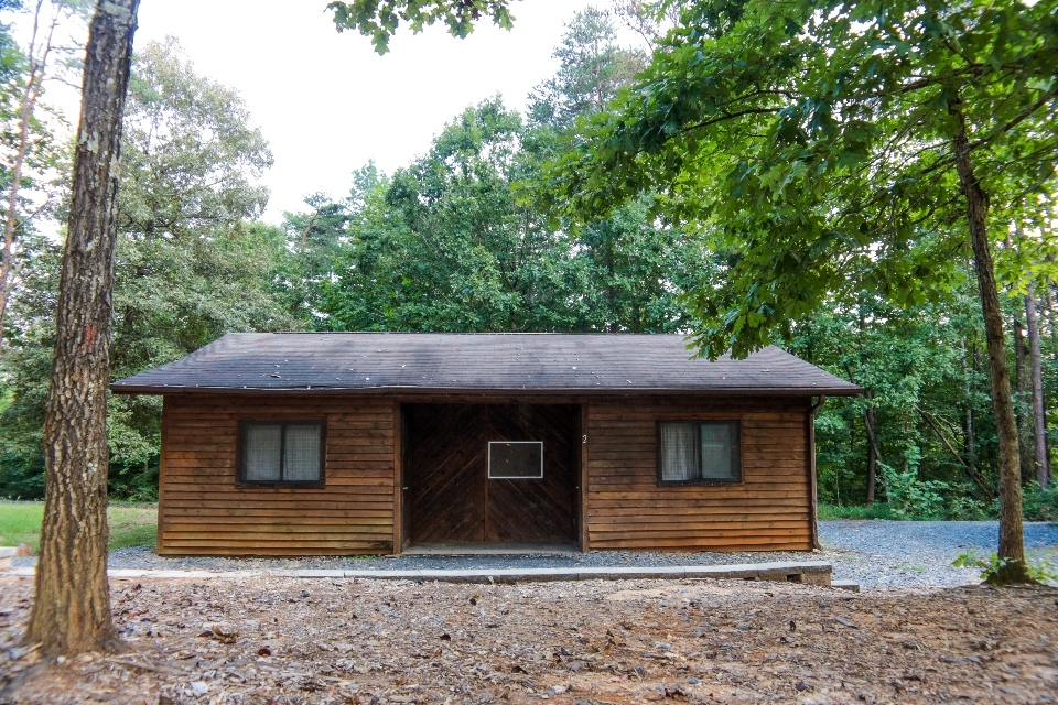 Pine Grove cabin rentals at Camp Friendship