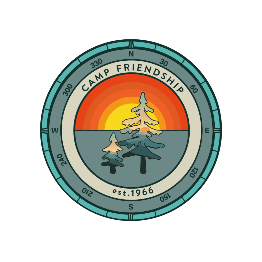 Camp Friendship logo design
