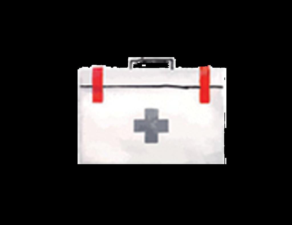 Medical box clipart