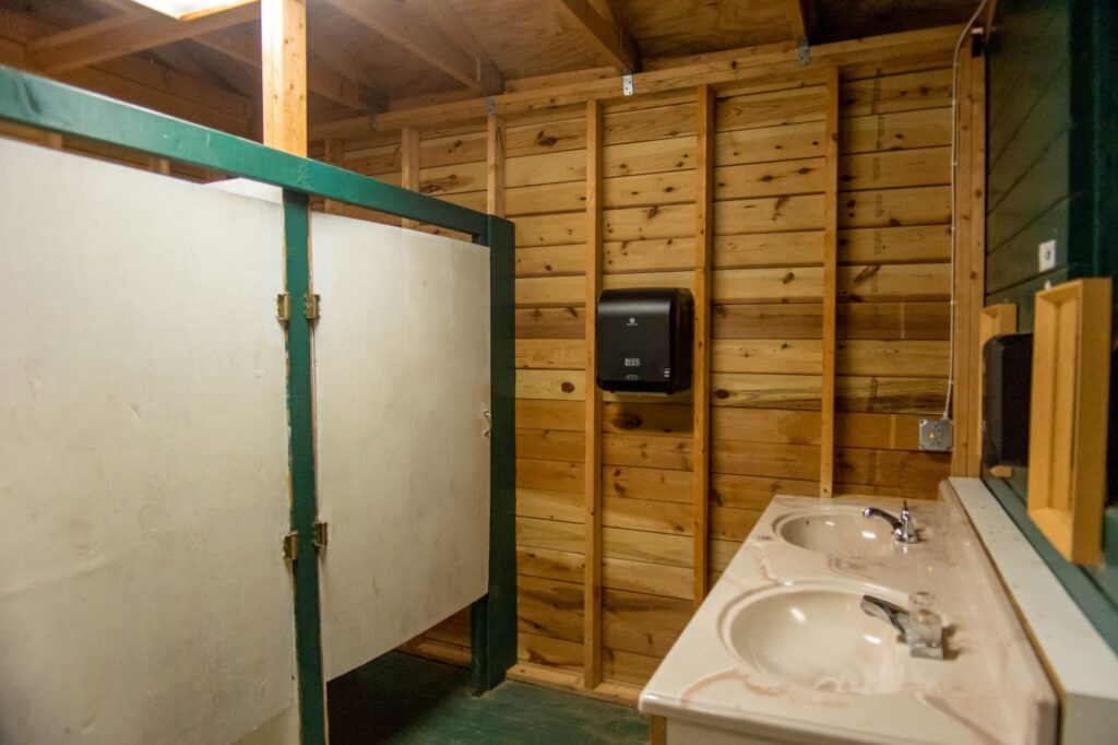 Pine Grove bathrooms